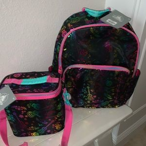 NWT Disney Coco Lunch Box and Backpack